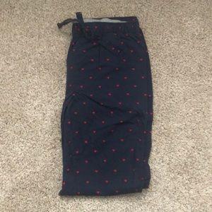 Men's GAP Heart Pajama Pants Size M